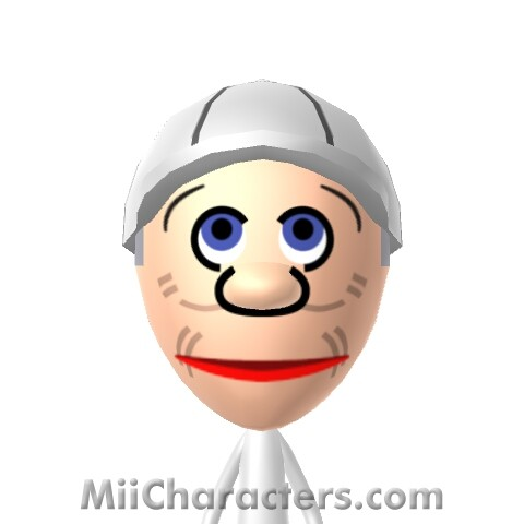how to make a waluigi mii on 3ds