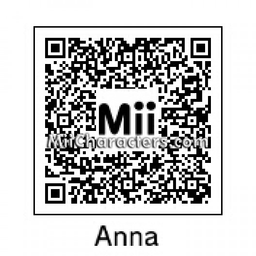 With 3ds kirby triple deluxe along with mii characters qr codes