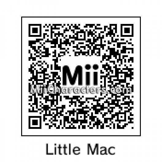 Qr code for little mac by snintyeight