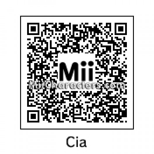 Miicharacters Com Miicharacters Com Famous Miis For The Wii U Wii 3ds And Miitomo App Qr Codes And Instructions