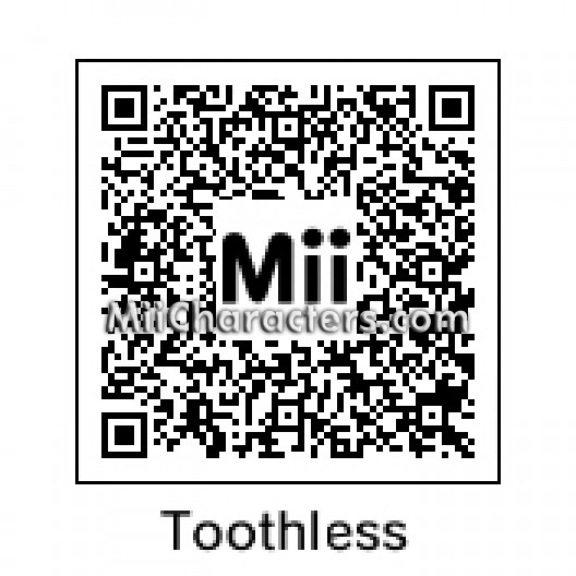 QR Code for Toothless by Bambi