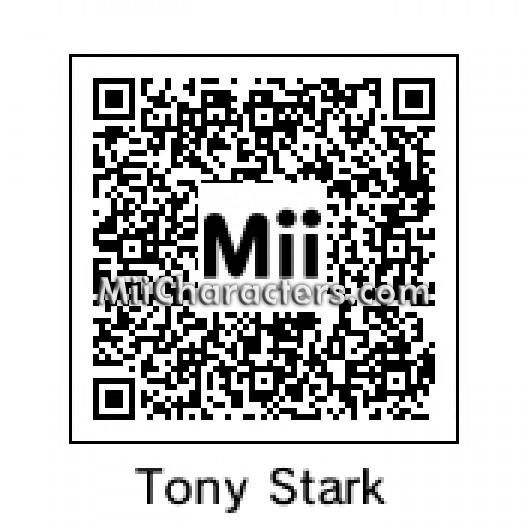 Miicharacterscom Miicharacterscom Miis Tagged With Iron Man