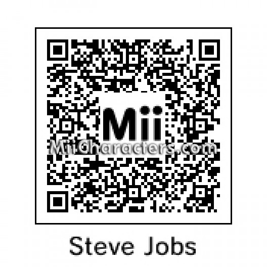mii details for steve jobs. Black Bedroom Furniture Sets. Home Design Ideas