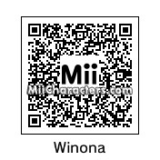 QR Code for Winona Ryder by Ajay