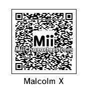 QR Code for Malcolm X by Eric