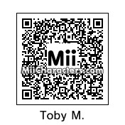 QR Code for Tobey Maguire by Ajay