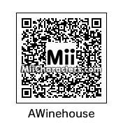 QR Code for Amy Winehouse by Eric