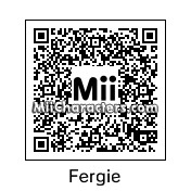 QR Code for Fergie by Alex