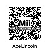 QR Code for Abraham Lincoln by Andy Anonymous