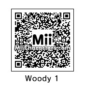 QR Code for Woody Harrelson by Ajay