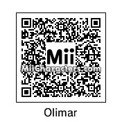 QR Code for Captain Olimar by Toon and Anime