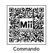 QR Code for Commando by Mr. Tip