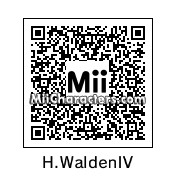 QR Code for Harvey Walden IV by Eric