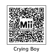 QR Code for Crying Boy by Johnny C