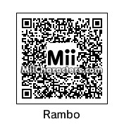 QR Code for John Rambo by B1LL