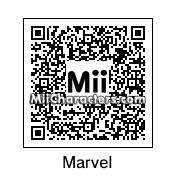 QR Code for Marvel