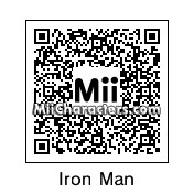 QR Code for Iron Man by Toon&Anime