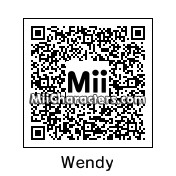 QR Code for Wendy Testaburger by Toon&Anime