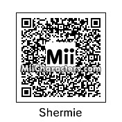QR Code for Shermie by Eben Frostey