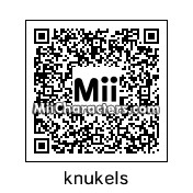 QR Code for Knuckles the Echidna by SonicFan