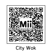 QR Code for City Wok Owner by Toon and Anime