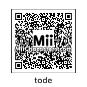 QR Code for Toad by zander