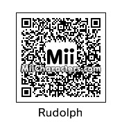QR Code for Rudolph the Red Nosed Reindeer by Ice Man
