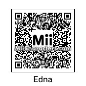 "QR Code for Edna ""E"" Mode by Boqueron"