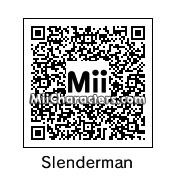 QR Code for Slenderman