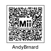 QR Code for Andy Bernard by Nelson