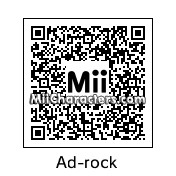 QR Code for Ad-Rock by Johnny Awesome