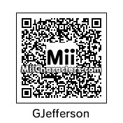 QR Code for George Jefferson by bug
