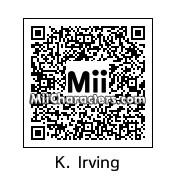 QR Code for Kyrie Irving by Zaquito