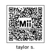 QR Code for Taylor Swift by nintendosushi