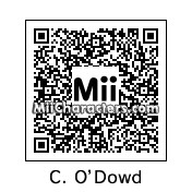 QR Code for Chris O'Dowd by celery