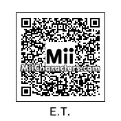 QR Code for E.T. The Extra-Terrestrial by !SiC