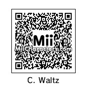 QR Code for Christoph Waltz by celery