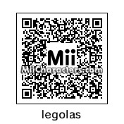 QR Code for Legolas by smeagol