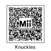 QR Code for Knuckles by zander