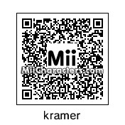 QR Code for Cosmo Kramer by Mr. Tip