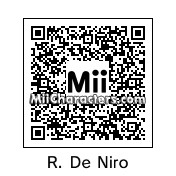 QR Code for Robert De Niro