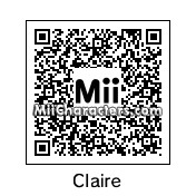QR Code for Claire Bennet by Nelson