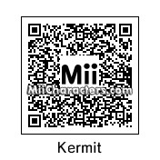 QR Code for Kermit The Frog by D. Maria