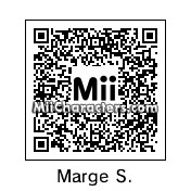 QR Code for Marge Simpson by D. Maria