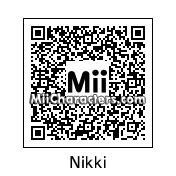 QR Code for Nikki by J1N2G