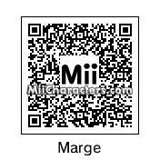 QR Code for Marge Simpson by Chito