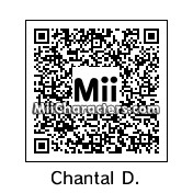 QR Code for Chantal Dubois by Tristan Groff
