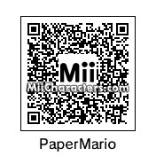 QR Code for Paper Mario by J1N2G