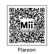 QR Code for Flareon by Zego