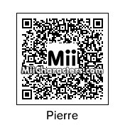 QR Code for Pierre by Mii Maker JL